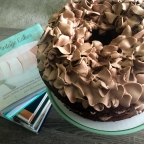 I love this Lovelight chocolate chiffon cake with chocolate whipped cream